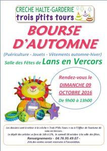 Bourse vêtements enfants Lans en Vercors 2016