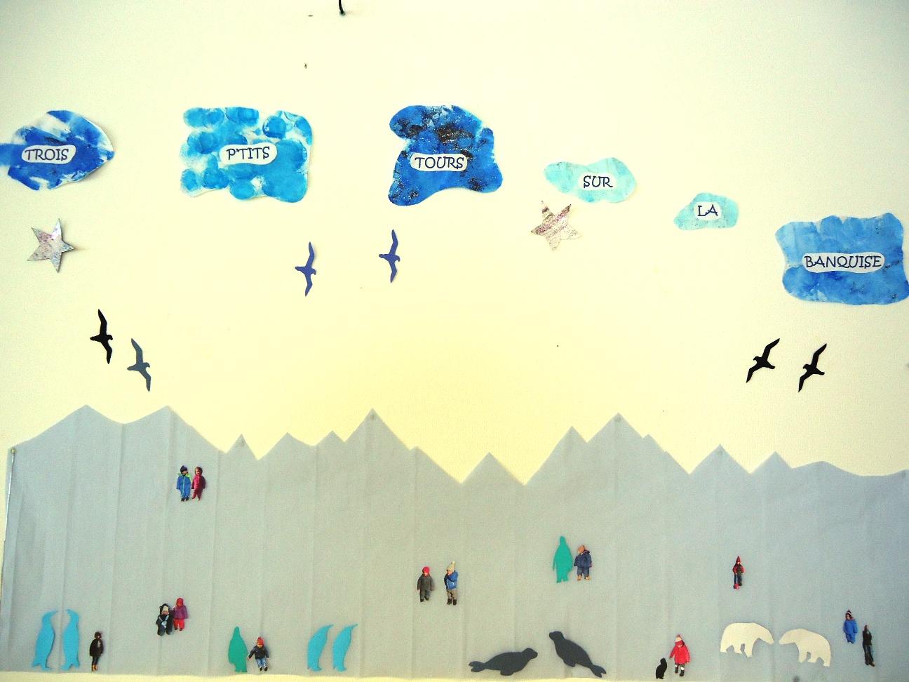 La banquise et ses petits pingouins